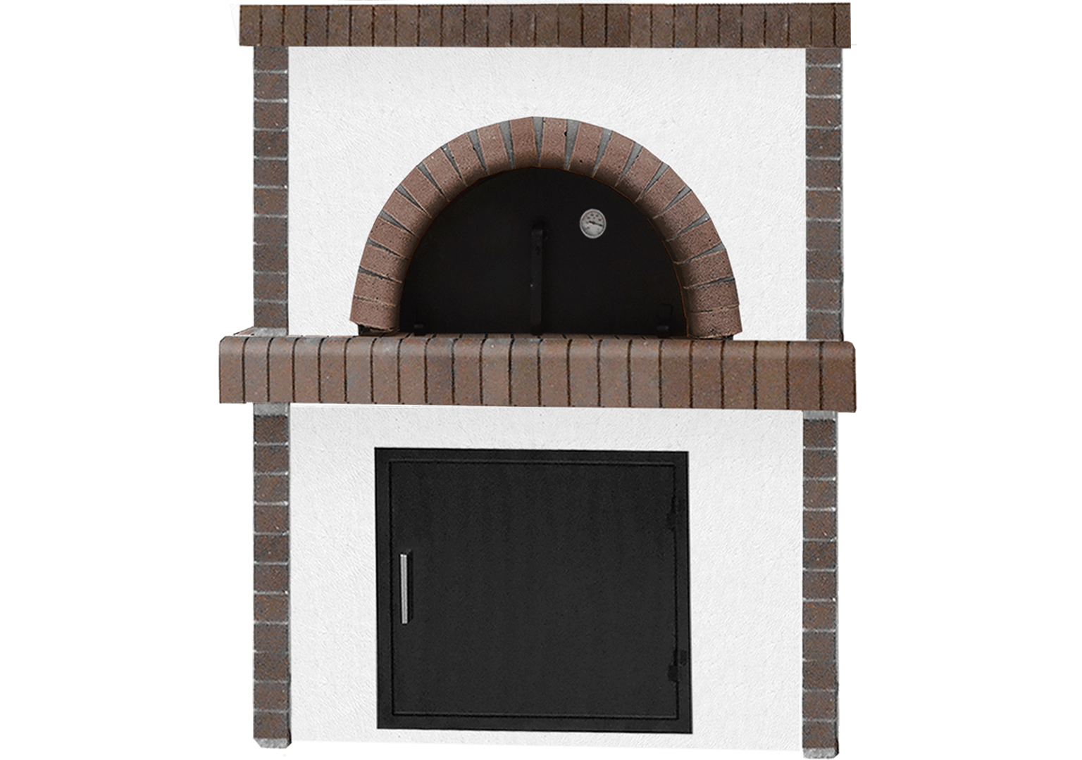 Traditional wood-fired oven
